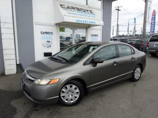 Used 2007 Honda Civic DX-G  Sedan, Automatic, No Accidents!! for sale in Langley, BC