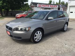 Used 2005 Volvo V50 2.4L/Accident Free/Automatic/Gas Saver/Certified for sale in Scarborough, ON