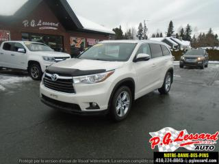 Used 2014 Toyota Highlander Traction Integrale for sale in St-Prosper, QC