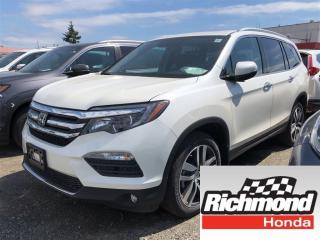 New 2018 Honda Pilot Touring for sale in Richmond, BC