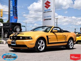 Used 2012 Ford Mustang GT Convertible ~5.0L V8 ~Nav ~Leather for sale in Barrie, ON