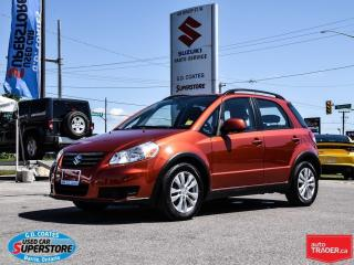 Used 2013 Suzuki SX4 JX AWD ~Navigation ~Bluetooth for sale in Barrie, ON