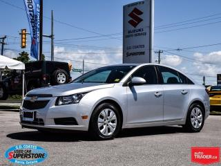 Used 2013 Chevrolet Cruze LT Turbo ~Only 18,000KM! for sale in Barrie, ON