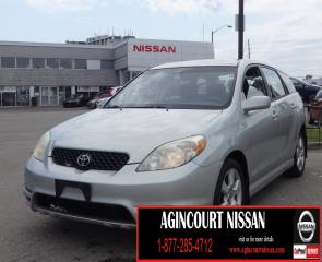 Used 2003 Toyota Matrix XRS |AS-IS SUPERSAVER| for sale in Scarborough, ON