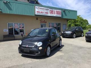 Used 2013 Fiat 500 Sport for sale in Bolton, ON