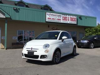 Used 2015 Fiat 500 Sport for sale in Bolton, ON