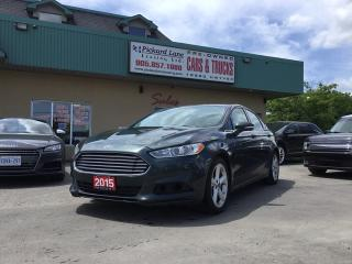 Used 2015 Ford Fusion SE for sale in Bolton, ON
