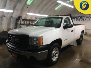 Used 2013 GMC Sierra 1500 WT*REG CAB*8 FOOT PICKUP BOX*BACK RACK*BOX LINER*CRUISE CONTROL*CLIMATE CONTROL*AM/FM/CD/AUX*2WD* for sale in Cambridge, ON