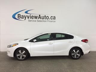 Used 2018 Kia Forte LX - HTD SEATS! BLUETOOTH! REVERSE CAM! WIFI! CRUISE! for sale in Belleville, ON