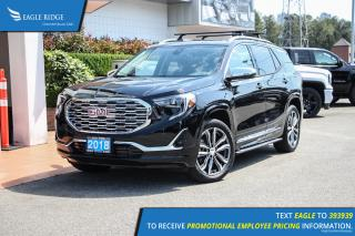 New 2018 GMC Terrain Denali Navigation, Heated & Ventilated Seats, Sunroof for sale in Port Coquitlam, BC