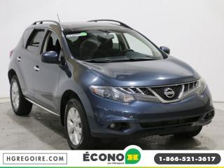 Used 2012 Nissan Murano SV CVT for sale in St-léonard, QC
