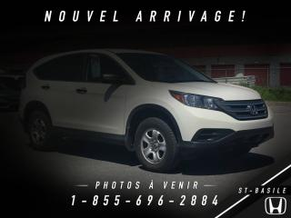 Used 2014 Honda CR-V LX+ EXCELLENTE CONDITION + C for sale in St-Basile-le-Grand, QC