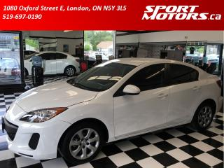 Used 2013 Mazda MAZDA3 New Brakes! A/C+Keyless Entry+Rust Proofed+Tinted! for sale in London, ON