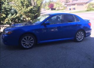 Used 2008 Subaru WRX WRX sedan for sale in Calgary, AB