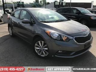 Used 2014 Kia Forte 1.8L LX | ROOF | HEATED SEATS | BLUETOOTH for sale in London, ON