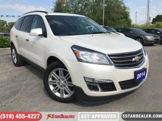 Used 2014 Chevrolet Traverse 1LT | ROOF | 8PASS | CAM | SAT RADIO for sale in London, ON