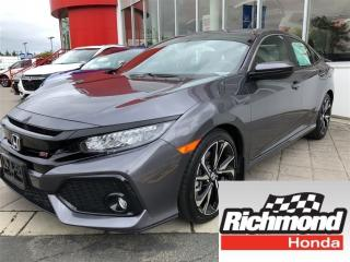 New 2018 Honda Civic SI for sale in Richmond, BC