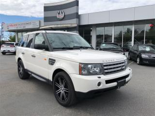 Used 2008 Land Rover Range Rover Sport SuperCharged Fully Loaded Air Suspension Only 90 for sale in Langley, BC