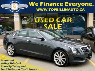 Used 2014 Cadillac ATS 2.0L Turbo Luxury with CUE System 63K kms for sale in Concord, ON