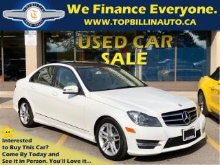 Used 2014 Mercedes-Benz C-Class C300 4MATIC, Navi, Pano Roof, Backup Camera for sale in Concord, ON