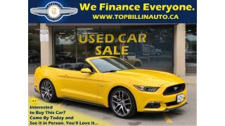 Used 2015 Ford Mustang GT Premium, 6 Speed, Navigation, Not a Rental for sale in Vaughan, ON