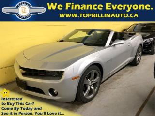 Used 2012 Chevrolet Camaro 2LT Convertible, RS pkg, Leather, HUD, Warranty for sale in Concord, ON