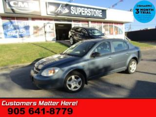 Used 2005 Chevrolet Cobalt Base  AS IS (UNCERTIFIED) AS TRADED IN for sale in St Catharines, ON