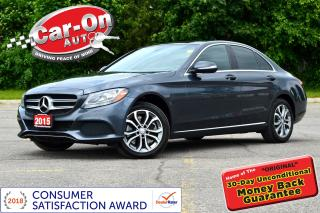 Used 2015 Mercedes-Benz C-Class C300 4MATIC PREM LEATHER PANO ROOF REAR CAM LOADED for sale in Ottawa, ON