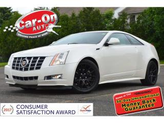Used 2012 Cadillac CTS Performance LEATHER SUNROOF REAR CAM HTD SEATS for sale in Ottawa, ON