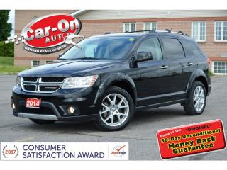 Used 2014 Dodge Journey R/T AWD 7 SEAT LEATHER NAV REAR CAM DVD LOADED for sale in Ottawa, ON