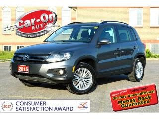 Used 2015 Volkswagen Tiguan 2.0 TSI AWD REAR CAM HTD SEATS ALLOYS LOADED for sale in Ottawa, ON