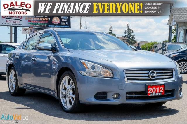 2012 Nissan Maxima SV | POWER MOONROOF | HEATED SEATS | BLUETOOTH |