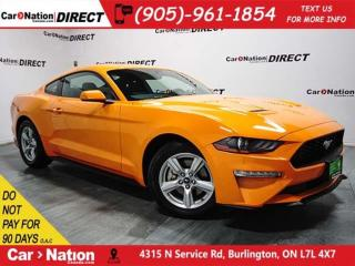 Used 2018 Ford Mustang EcoBoost| PUSH START| BACK UP CAMERA| for sale in Burlington, ON