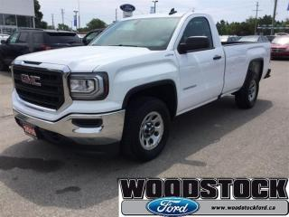 Used 2016 GMC Sierra 1500 Base Local Trade Long BOX for sale in Woodstock, ON