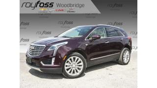 Used 2018 Cadillac XTS Platinum VENTED SEATS, NAV, SUNROOF for sale in Woodbridge, ON