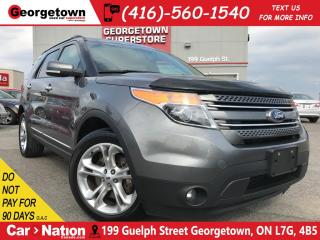 Used 2014 Ford Explorer Limited | NAVI | LEATHER | 4X4 | BACK UP CAM for sale in Georgetown, ON