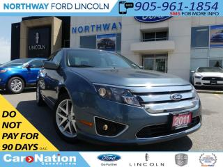 Used 2011 Ford Fusion SEL | 2.5L | LOW KM | BLUETOOTH | DUAL CLIMATE | for sale in Brantford, ON