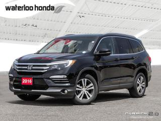 Used 2016 Honda Pilot EX-L Navi Bluetooth, Back Up Camera, Navigation, and More! for sale in Waterloo, ON