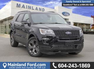 New 2018 Ford Explorer SPORT for sale in Surrey, BC