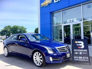 Used 2013 Cadillac ATS 2.0t Nav/cuir/syst.b for sale in Gatineau, QC