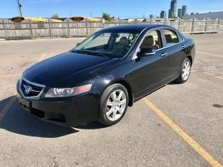 Used 2004 Acura TSX 6 SP M/T for sale in Mississauga, ON