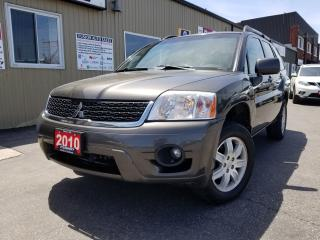 Used 2010 Mitsubishi Endeavor SE-LEATHER-LOCAL TRADE-V6-HEATED SEATS for sale in Tilbury, ON