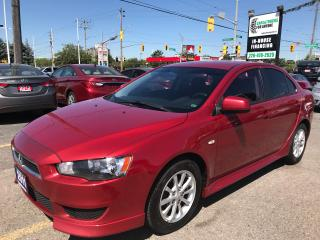 Used 2011 Mitsubishi Lancer Remote Start l No Accidents l Heated Seats for sale in Waterloo, ON