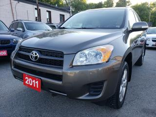 Used 2011 Toyota RAV4 LOW KMs Only 119K/4WD/Sunroof/Alloys/AUX for sale in Scarborough, ON
