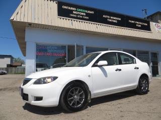 Used 2008 Mazda MAZDA3 MANUAL,EXTRA CLEAN,A/C,ALLOYS,POWER PACKAGE for sale in Mississauga, ON