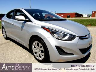 Used 2014 Hyundai Elantra SE - 1.8L - 6 Speed Manual for sale in Woodbridge, ON