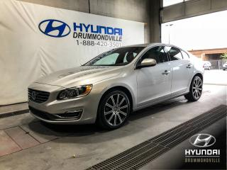 Used 2015 Volvo S60 T6 AWD PREMIER PLUS + TOIT + CUIR + MAGS for sale in Drummondville, QC