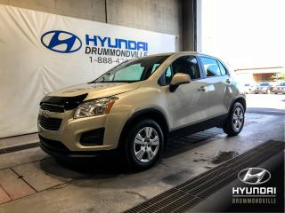 Used 2013 Chevrolet Trax LS + BAS KM + A/C + WOW ! for sale in Drummondville, QC