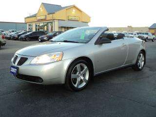 Used 2007 Pontiac G6 GT 3.9L Convertible Hardtop for sale in Brantford, ON