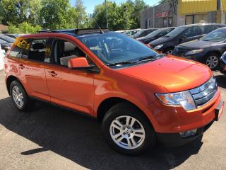 Used 2008 Ford Edge SEL/ DVD/ PANORAMIC SUNROOF/ ALLOYS/ LOADED! for sale in Scarborough, ON